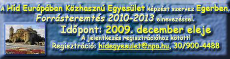 Forrásteremtés 2010-2013