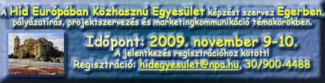 Nonprofit Akadémia Egerben